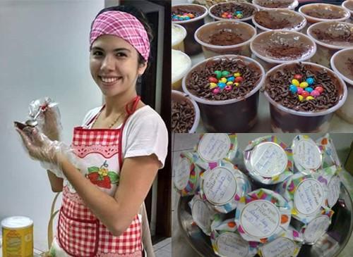 Aluna da Facopp transforma paixão por doces em profissão