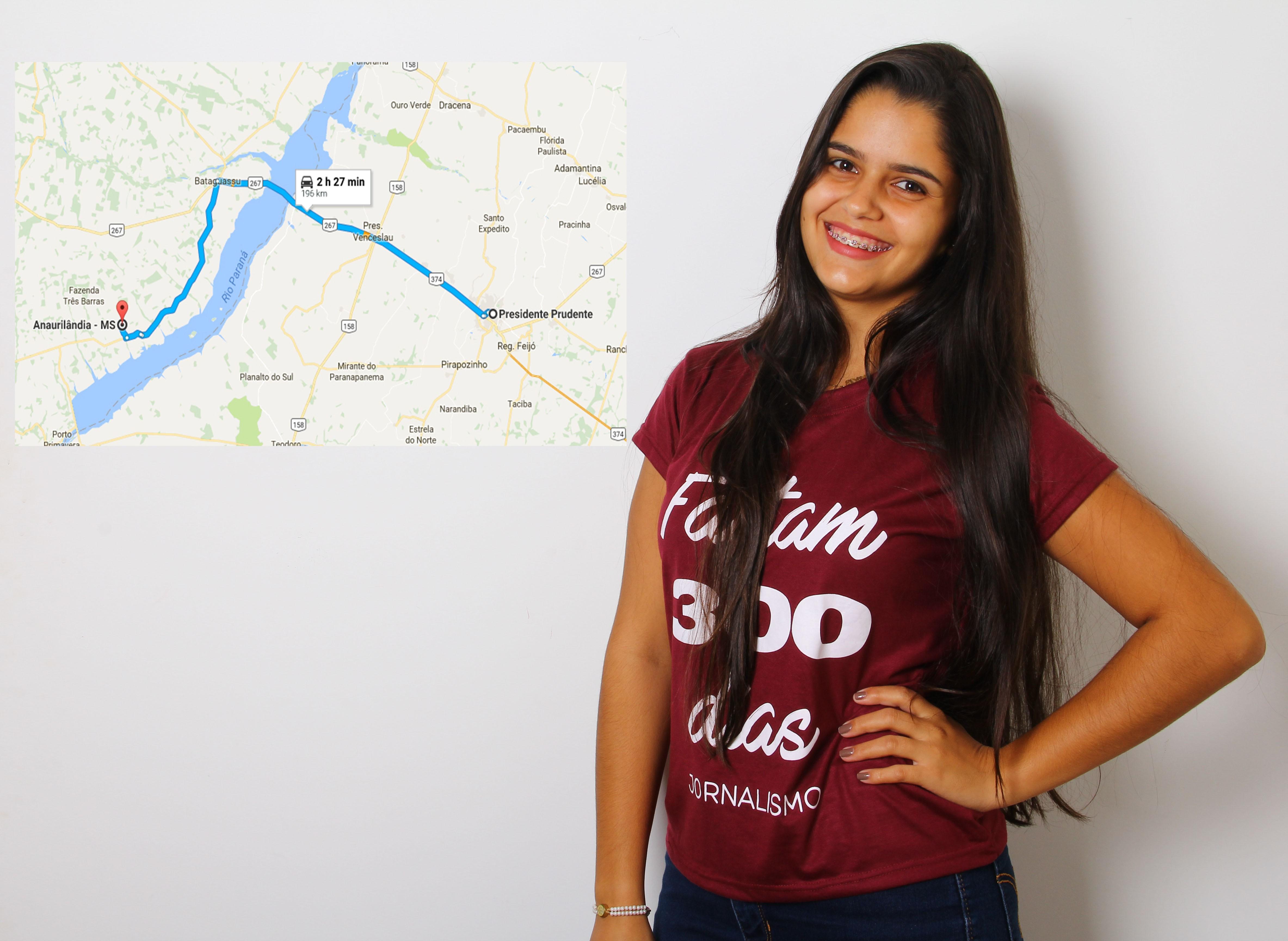 Na reta final do curso, facoppiana conta experiência longe da família