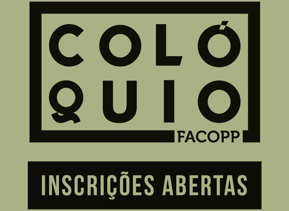 Abertas as inscrições para o 3º Colóquio da Facopp