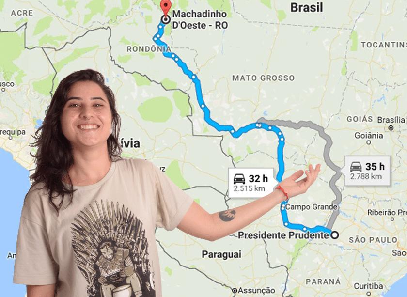 De Rondônia para Facopp, Giovanna deixou cidade para cursar Fotografia