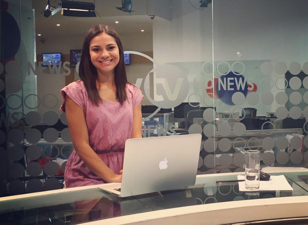 Da Facopp para o mundo, ex-aluna apresenta telejornal na Mongólia