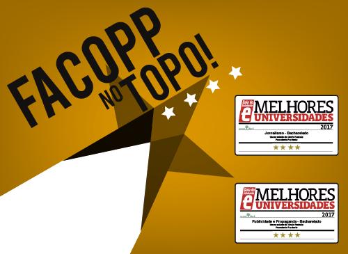 Facopp é quatro estrelas do Guia do Estudante