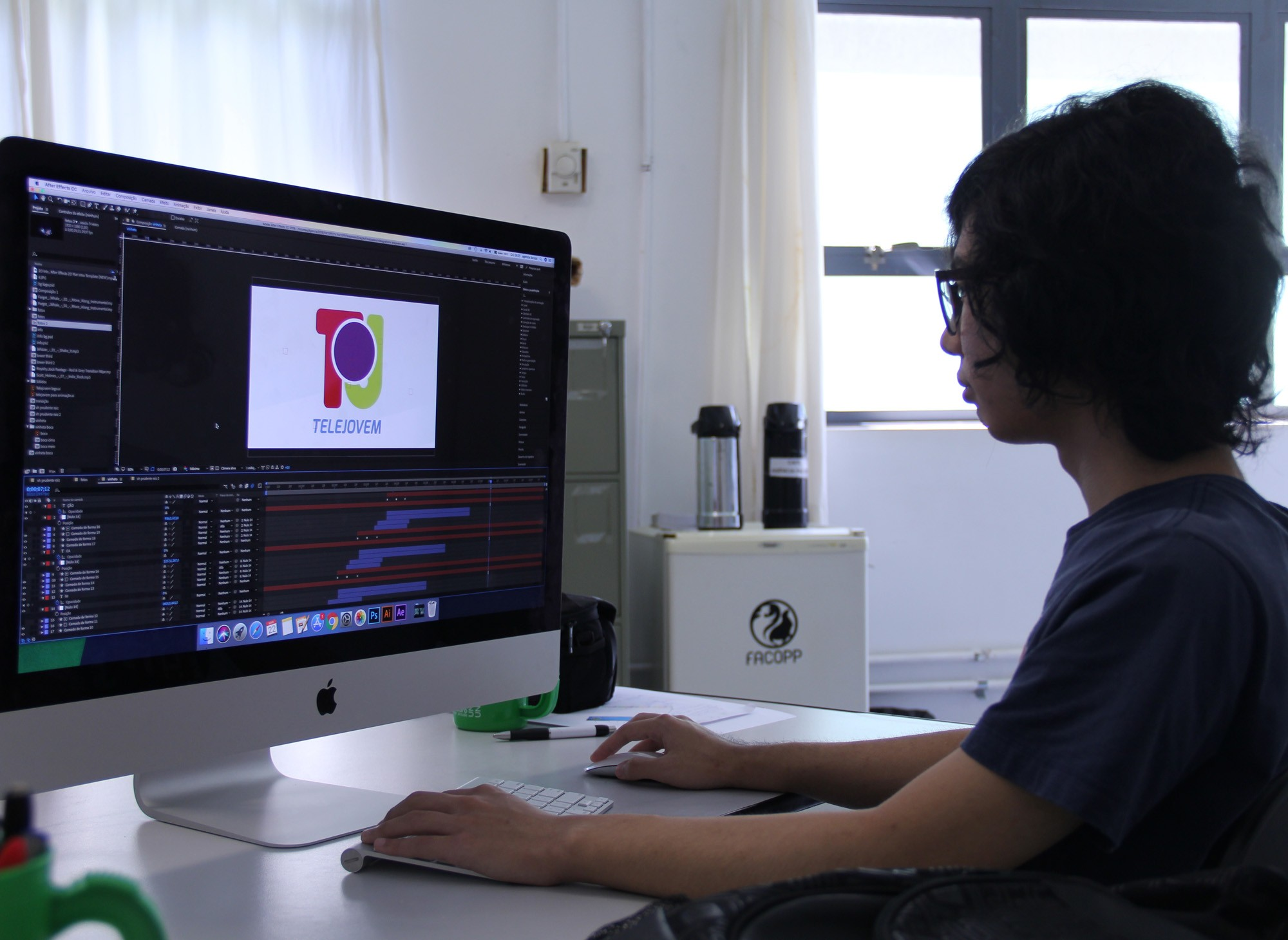Novo projeto videográfico do TeleJovem é produzido pela Agência Facopp
