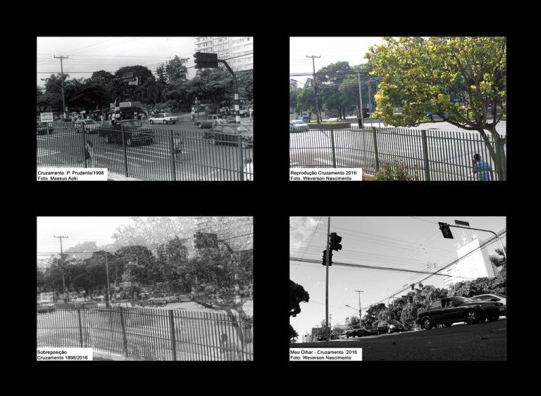 """Exposição """"Ontem e Hoje"""" a recuperação da imagem de Presidente Prudente através da fotografia (1990 - 2016). Foto Weverson Nascimento"""
