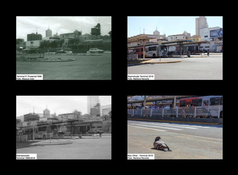 """Exposição """"Ontem e Hoje"""" a recuperação da imagem de Presidente Prudente através da fotografia (1990 - 2016)."""