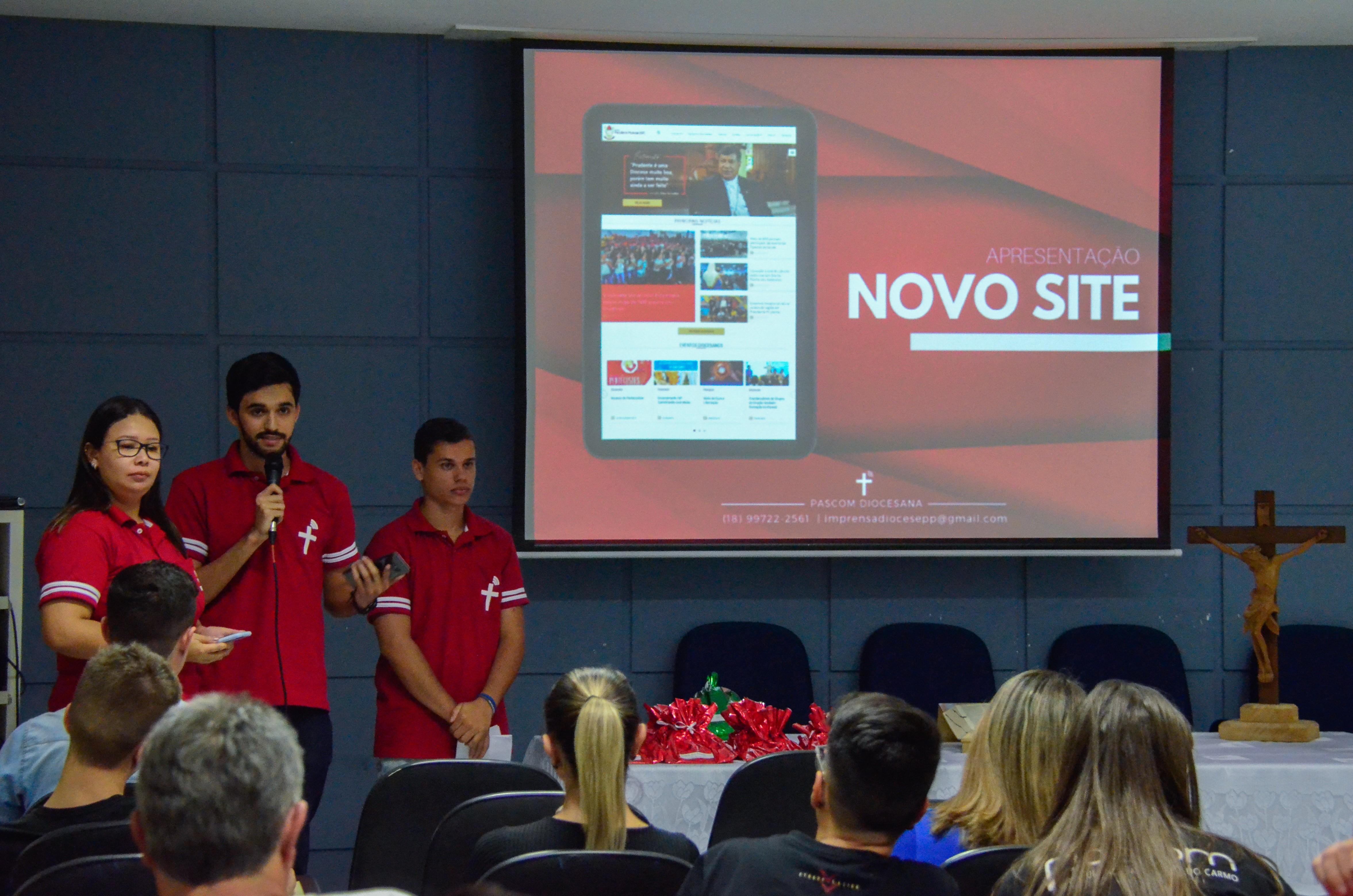 TCC de Jornalismo lança site reformulado da Diocese de Prudente