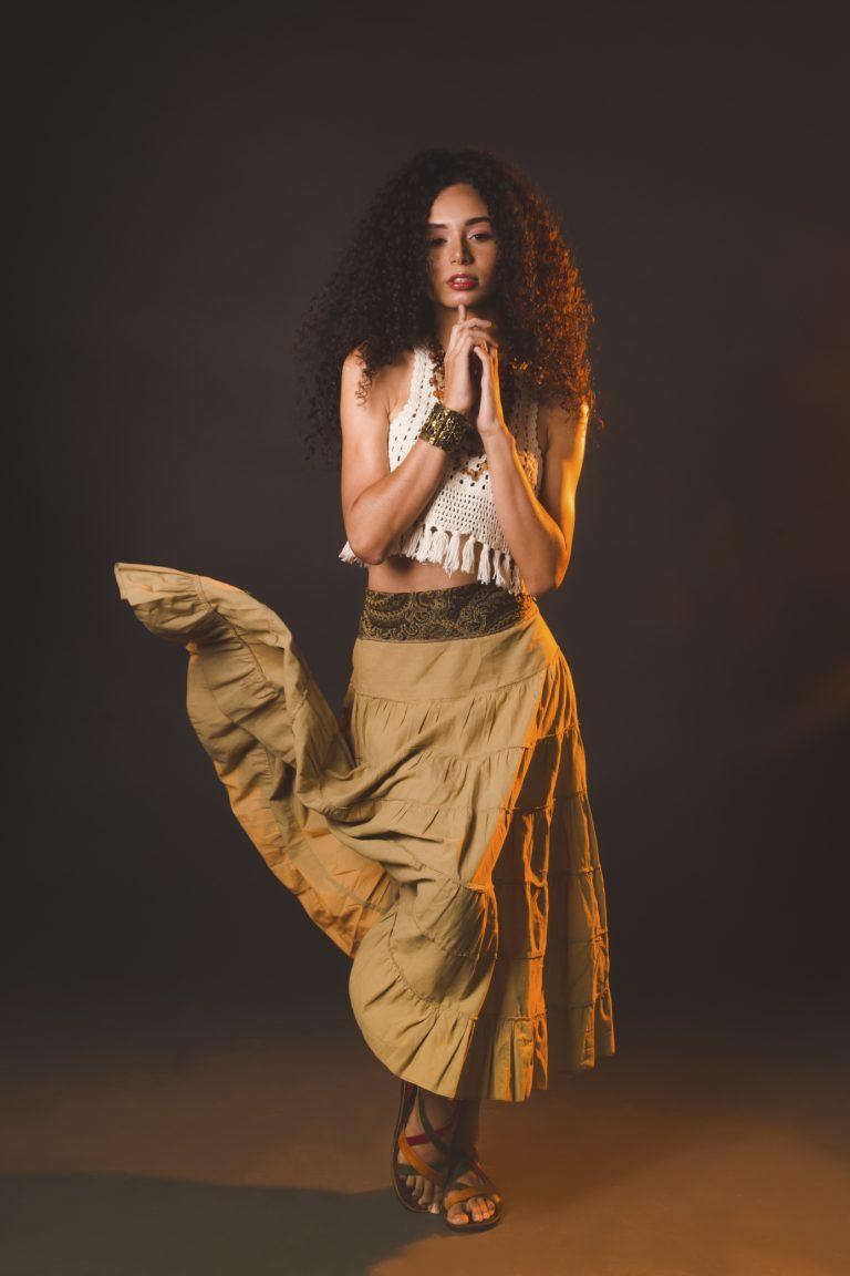 Anos 70 Liberdade Hippie Chic Crédito: Rebeca Okubo