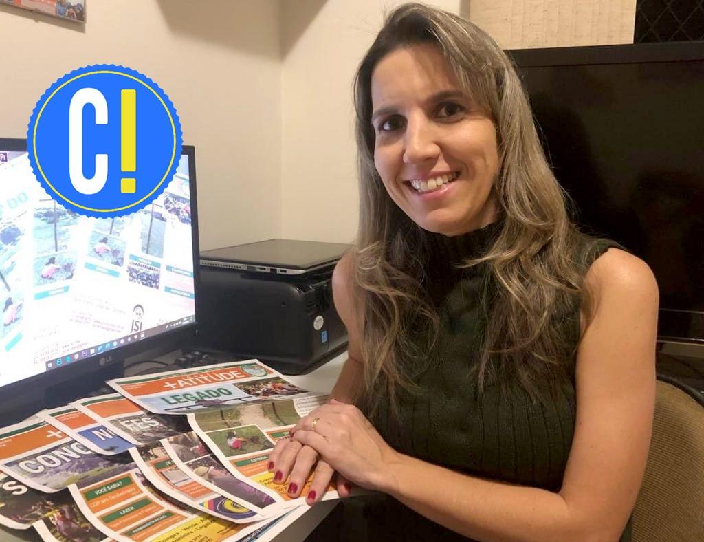 Jornalista produz jornal a distância por meio da internet