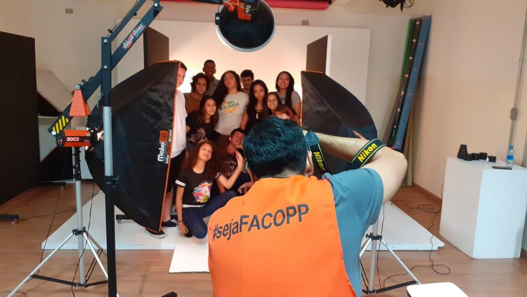 Facopp recebe alunos do ensino médio para Dia Maker