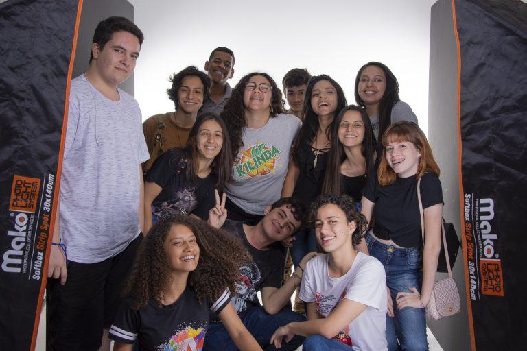 Fotos produzidas por alunos do ensino médio no 1º Dia Maker