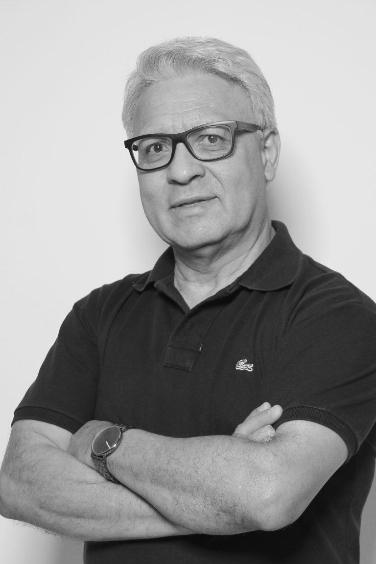 Mestre Homero Ferreira, professor no Curso de Jornalismo. Crédito: Felipe Piquione