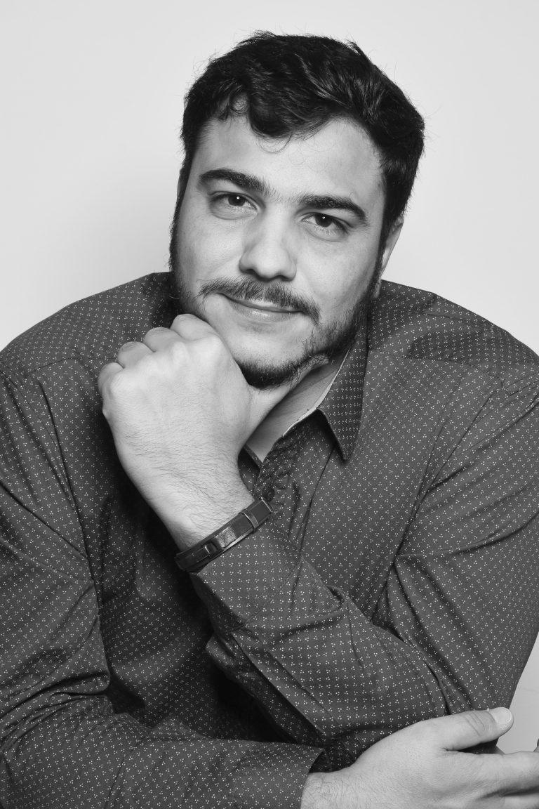 Especialista Dhiego da Silva Saraiva, professor no Curso de Publicidade e Propaganda. Crédito: Pedro Rotta