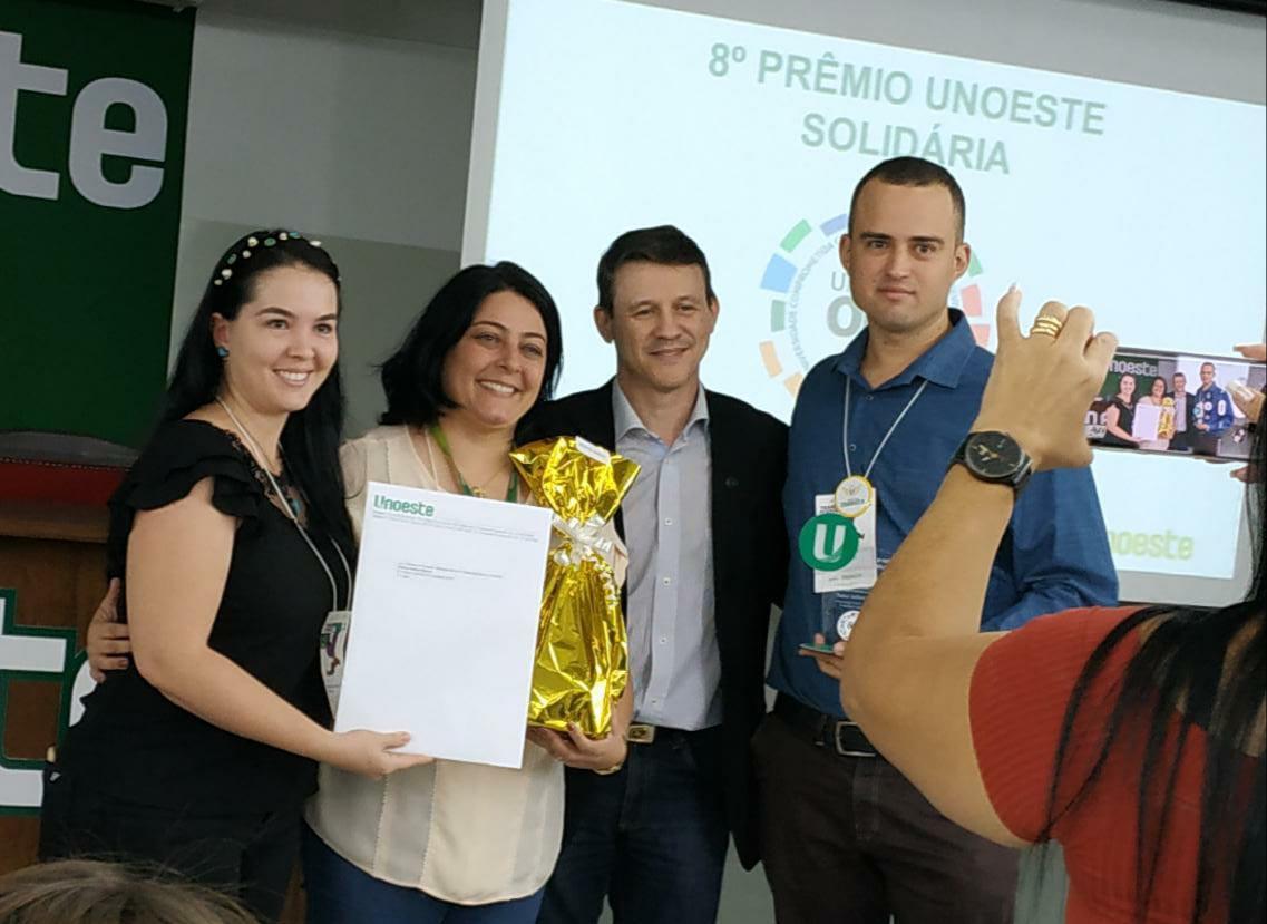 Facoppianos conquistam Prêmio Unoeste Solidária