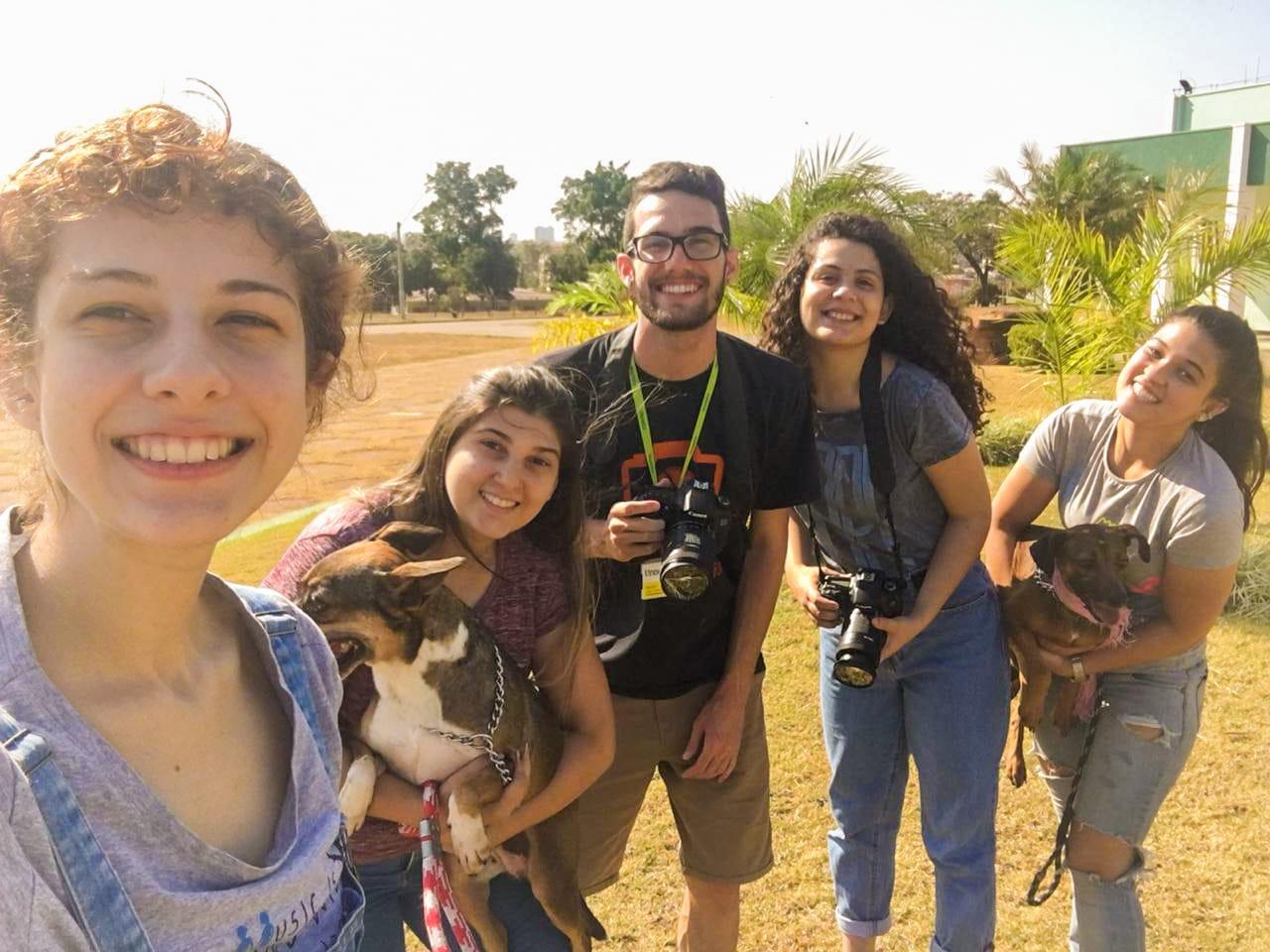 Facoppianos participam de projeto da Medicina Veterinária