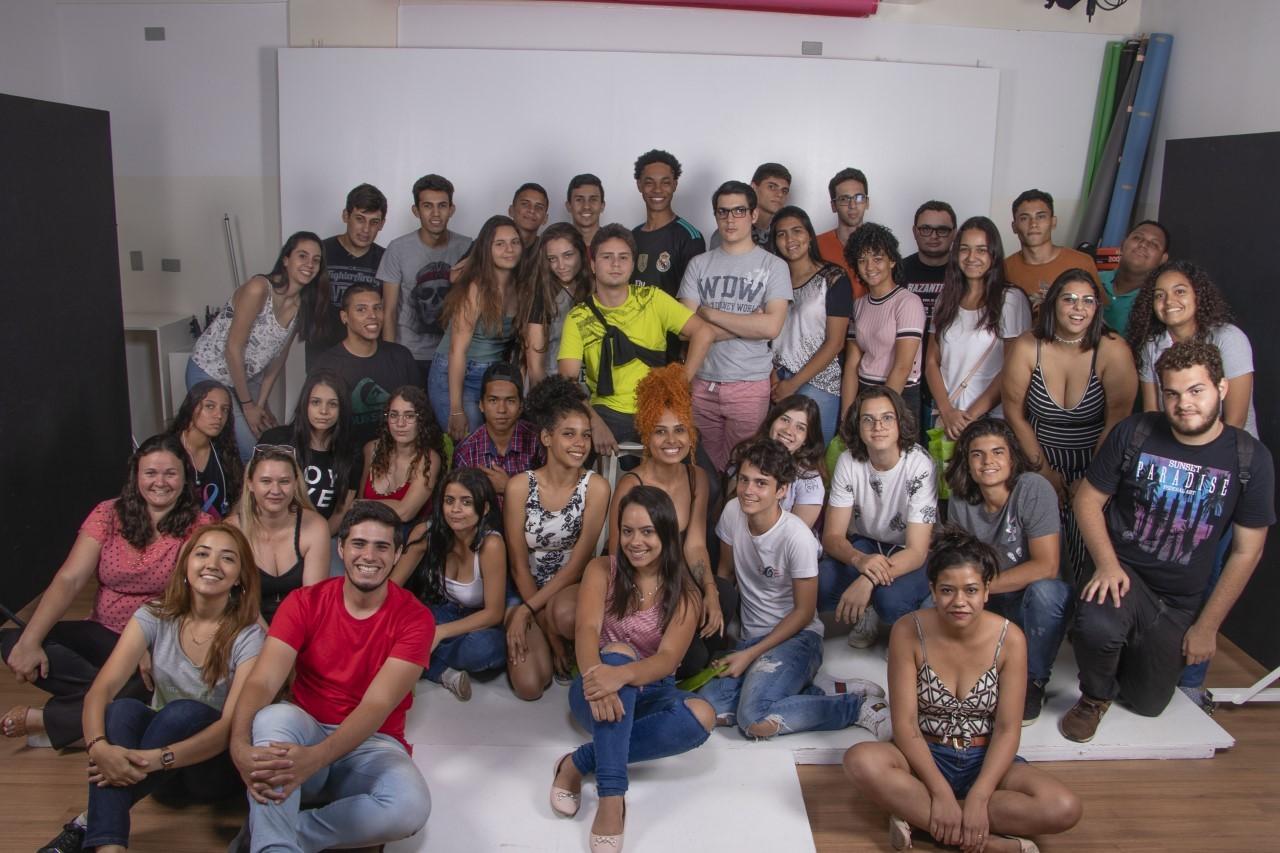 Estudantes do Inova participam de oficina na Facopp