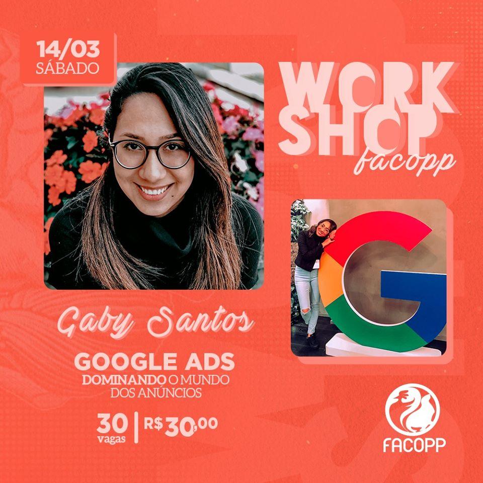 Ex-facoppiana retorna para ministrar oficina de Google Ads