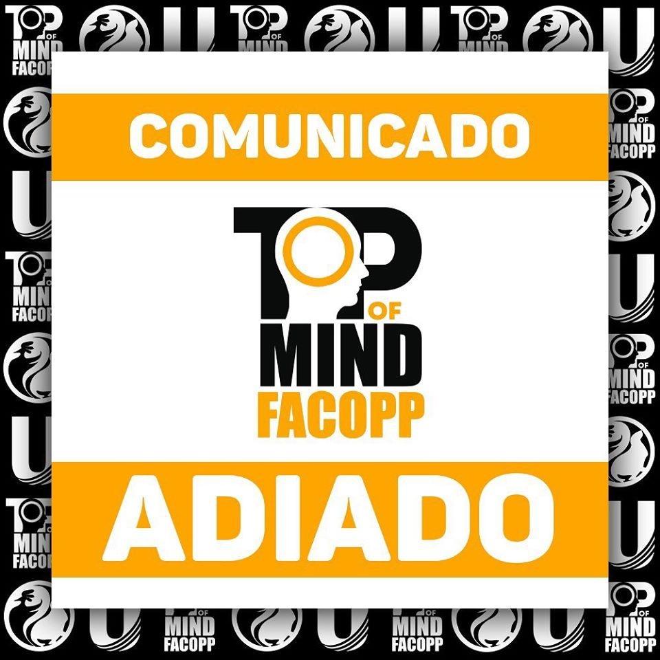 12º Top Of Mind Facopp será realizado no segundo semestre