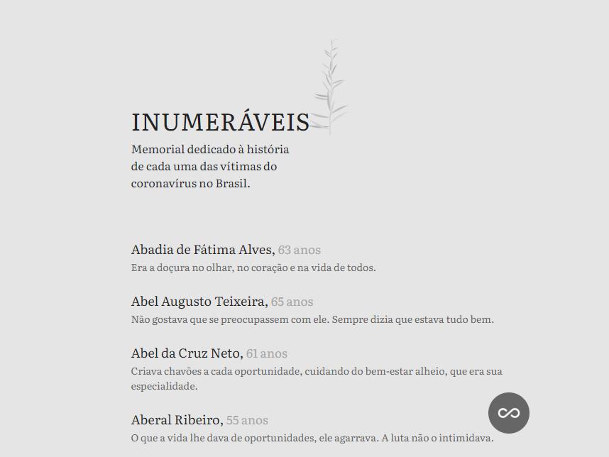 Estudante da Facopp escreve texto para memorial de vítimas do coronavírus
