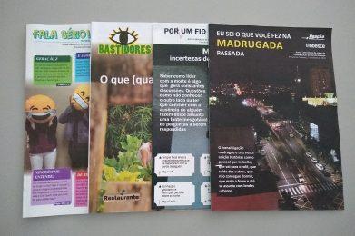Jornal Laboratório aborda profissões como tema central