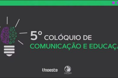 Temas sociais e novas tecnologias são temas do 5º Colóquio de Comunicação e Educação