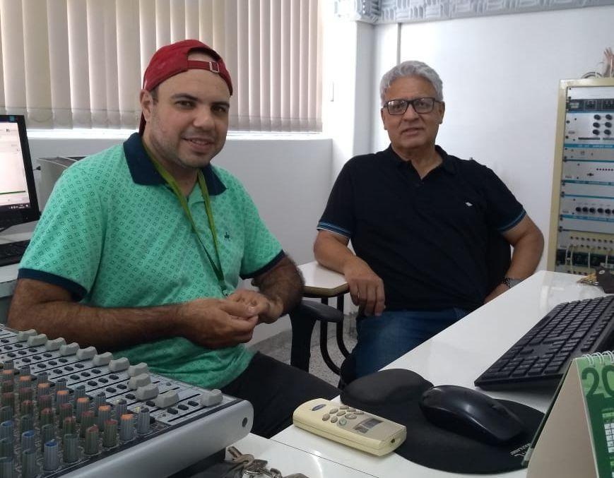 Operador de áudio, amigo e ouvinte:  conheça Jesley de Almeida